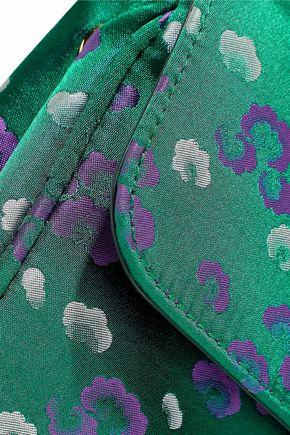 PRADA Floral-print satin shoulder bag