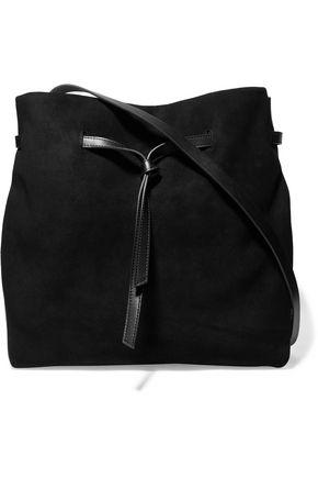 1f2378fac3a6 HALSTON HERITAGE Olivia leather and suede shoulder bag ...