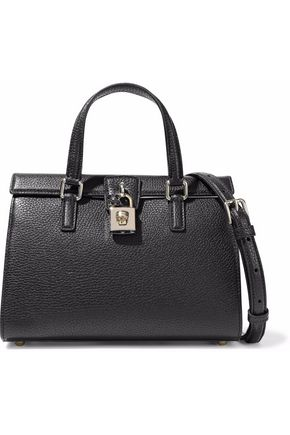 DOLCE & GABBANA Pebbled-leather tote