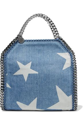 STELLA McCARTNEY Falabella printed denim shoulder bag