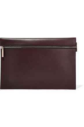 VICTORIA BECKHAM Large leather clutch