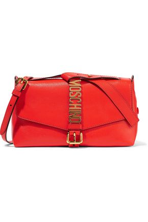 MOSCHINO COUTURE Embellished leather shoulder bag