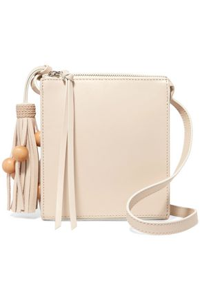 ELIZABETH AND JAMES Sara tasseled leather shoulder bag
