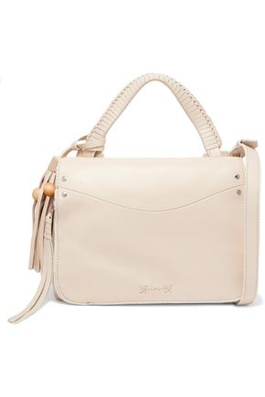 ELIZABETH AND JAMES Tasseled leather shoulder bag
