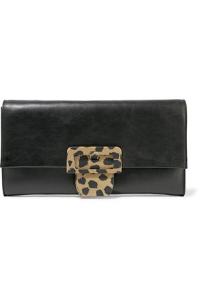 MAISON MARGIELA Leather clutch bag