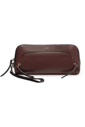DKNY Leather clutch