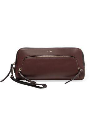 DKNY Leather clutch