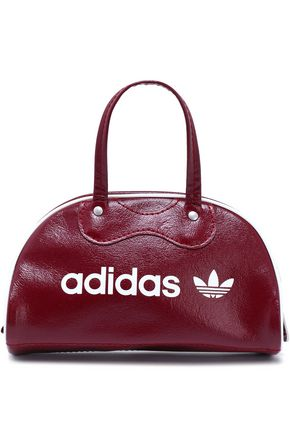 ADIDAS ORIGINALS Printed faux leather tote