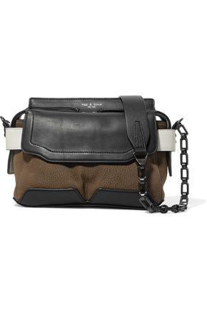 RAG & BONE Micro Pilot paneled leather shoulder bag