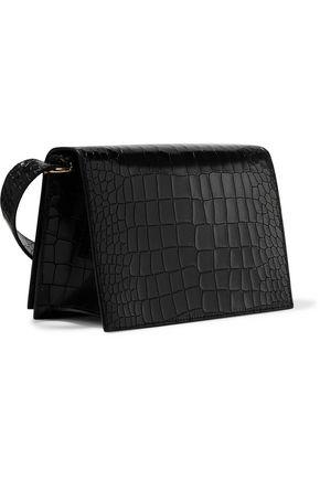VICTORIA BECKHAM Mini croc-effect leather shoulder bag