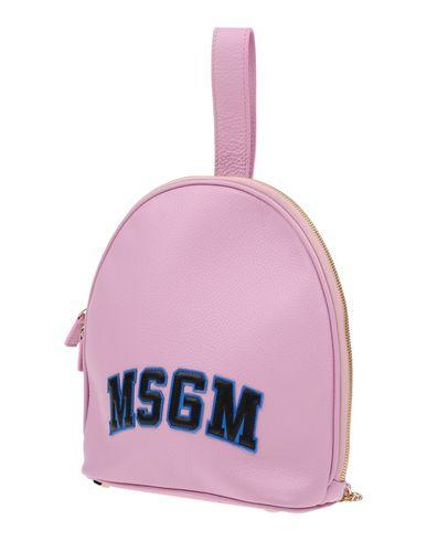 MSGM レディース バックパック&ヒップバッグ ピンク 牛革 95% / 金属 5%