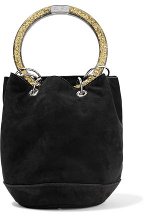 EDIE PARKER Olivia small suede tote