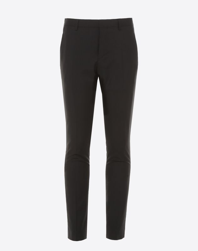 Pantalon coupe slim en laine