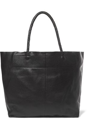 MAJE Sun pebbled-leather tote