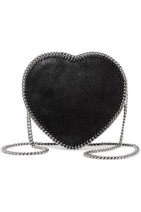 STELLA McCARTNEY Faux brushed-leather shoulder bag