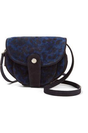 JÉRÔME DREYFUSS Momo leopard-print suede shoulder bag