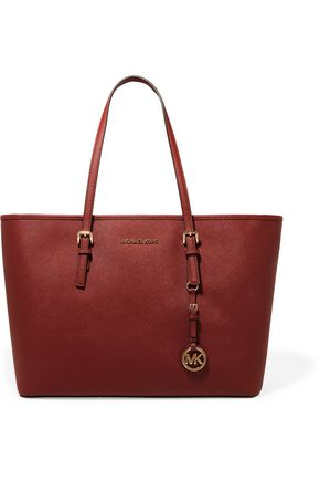 MICHAEL KORS Textured-leather tote