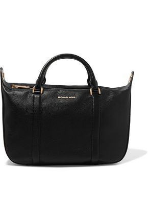 MICHAEL MICHAEL KORS Raven textured-leather tote