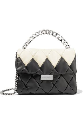 STELLA McCARTNEY Faux quilted leather shoulder bag