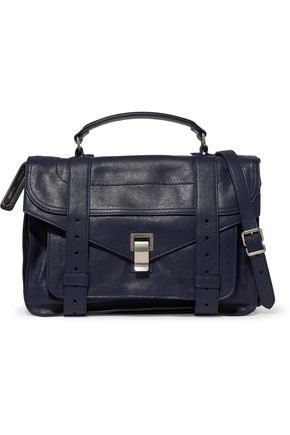 PROENZA SCHOULER PS1 textured-leather shoulder bag