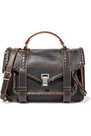 PROENZA SCHOULER PS1 medium embroidered leather shoulder bag