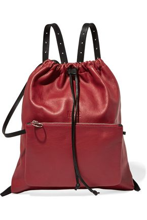 MM6 MAISON MARGIELA Textured-leather backpack