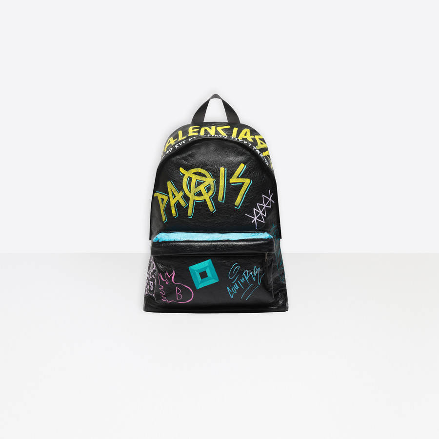 e7016e87f3ce BALENCIAGA Explorer Backpack Graffiti Explorer Bags Man f