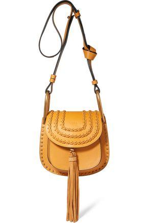 CHLOÉ Hudson mini whipstitched leather shoulder bag