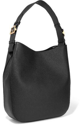 ... BURBERRY Textured-leather shoulder bag 78630ee31e