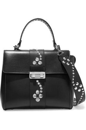 LANVIN Jiji small studded leather shoulder bag