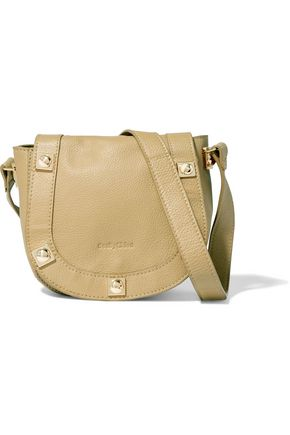 SEE BY CHLOÉ Mini textured-leather shoulder bag