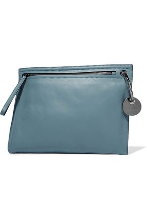 MARC BY MARC JACOBS Prism leather clutch