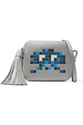 ANYA HINDMARCH Robot embossed leather shoulder bag