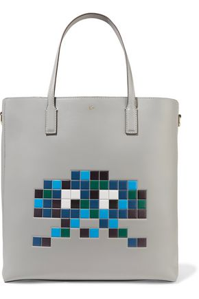 ANYA HINDMARCH Ebury embossed leather tote