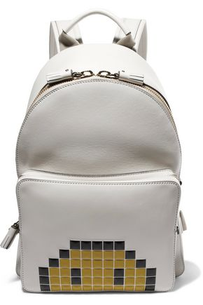 ANYA HINDMARCH Pixel Smiley leather backpack