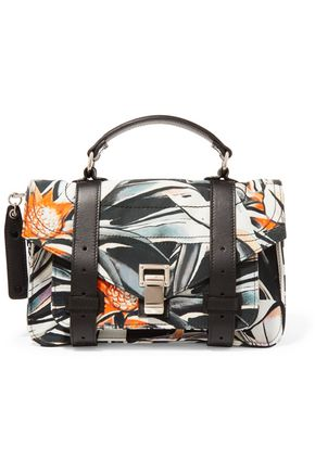 PROENZA SCHOULER Printed canvas shoulder bag