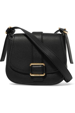 MICHAEL KORS Textured-leather shoulder bag