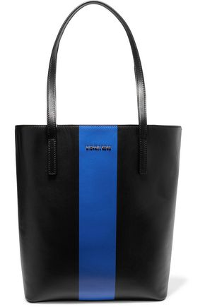 MICHAEL MICHAEL KORS Striped leather tote