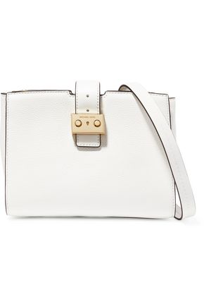 MICHAEL MICHAEL KORS Textured-leather shoulder bag
