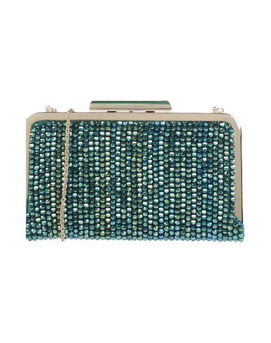 CHIARA P レディース ハンドバッグ グリーン ガラス / 紡績繊維