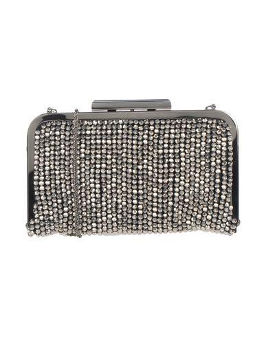 CHIARA P レディース ハンドバッグ 鉛色 紡績繊維