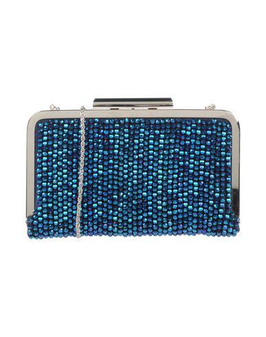 CHIARA P レディース ハンドバッグ アジュールブルー 紡績繊維