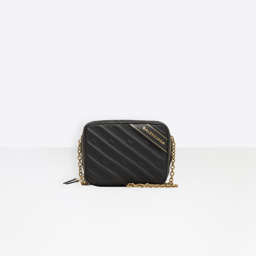 BALENCIAGA Blanket Reporter XS Blanket Handbags Woman f