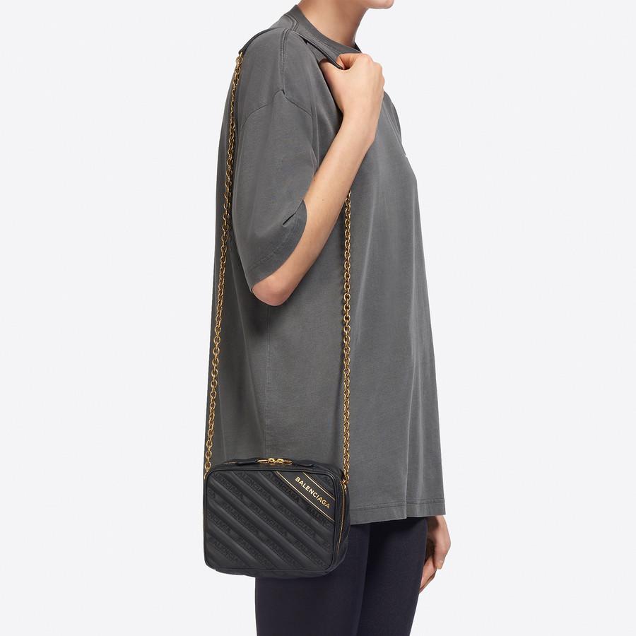 BALENCIAGA Blanket Reporter XS Blanket Handbags Woman b