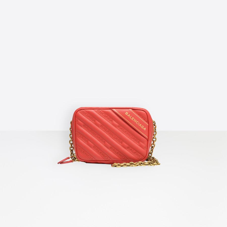 BALENCIAGA Blanket Reporter XS Blanket Handbags D f