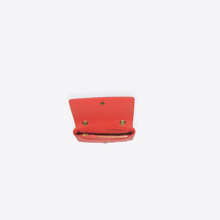 BALENCIAGA Blanket Chain Wallet Blanket Handbags Woman e