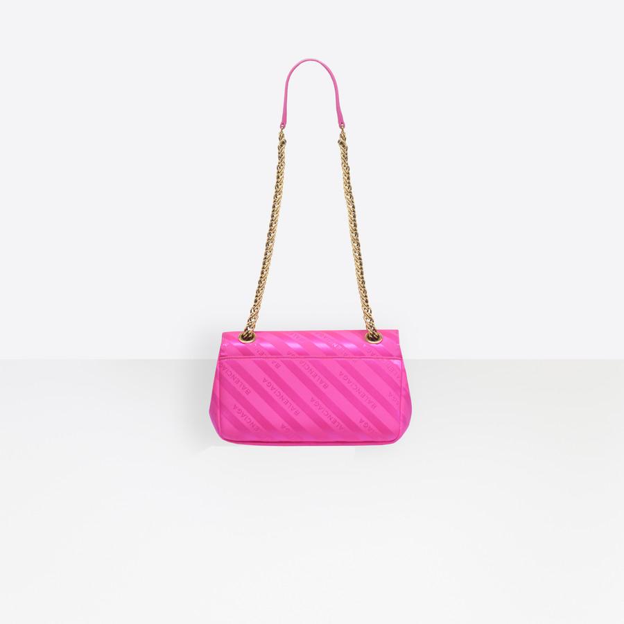 BALENCIAGA Chain Round S BB Handbags D d