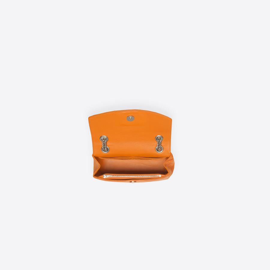 BALENCIAGA Chain Round S BB Handbags D e