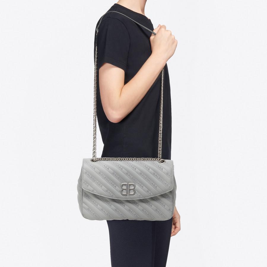BALENCIAGA BB Round M BB Handbags Woman b