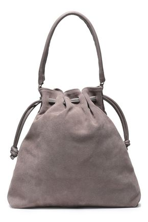 CLARE V. Suede bucket bag